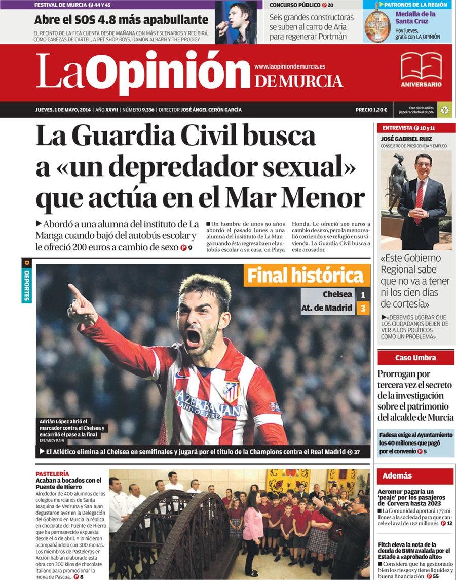 Periodico la opini n de murcia 1 5 2014 - Constructoras murcia ...