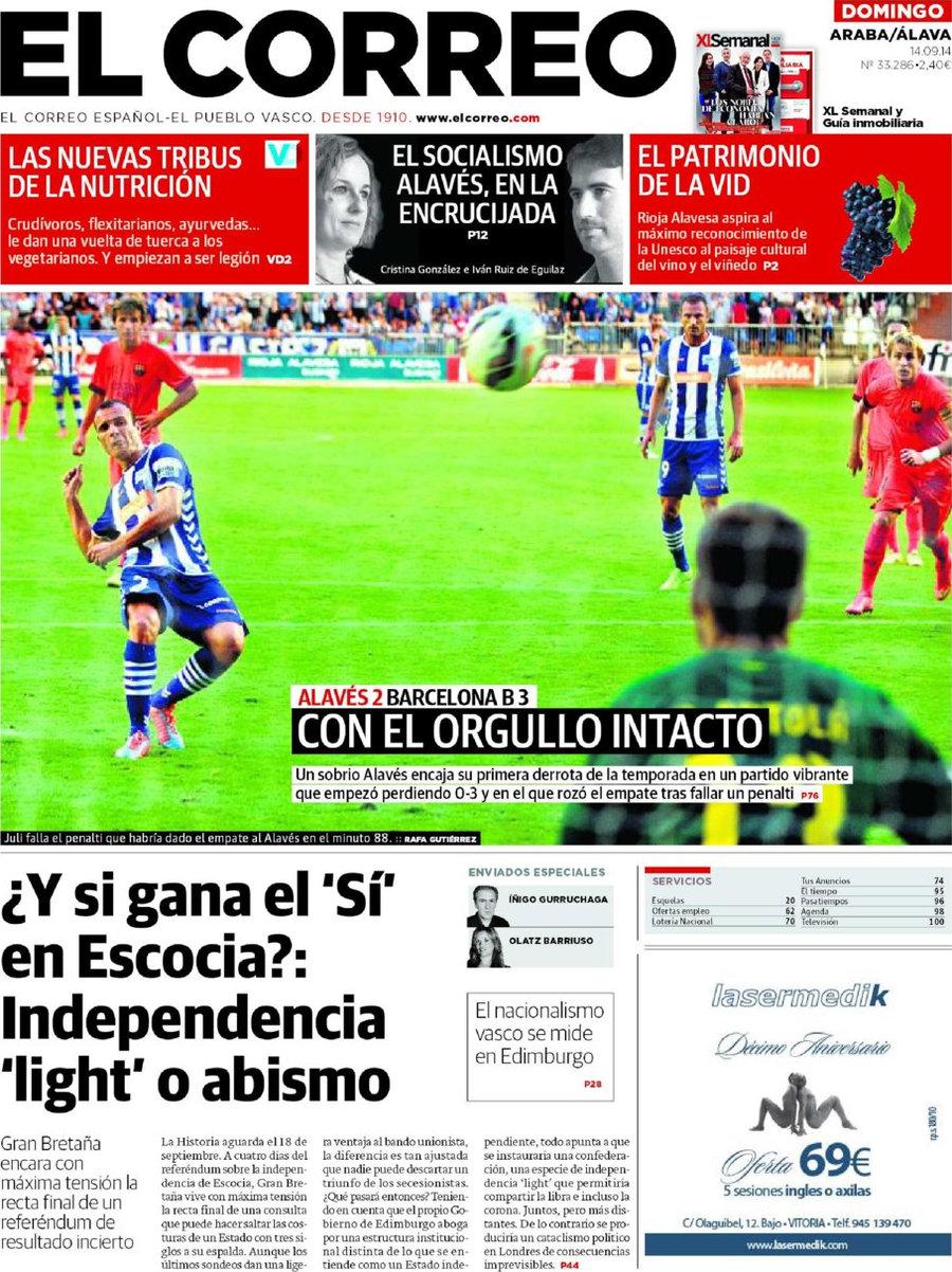 Periodico el correo lava 14 9 2014 for Correo la 14