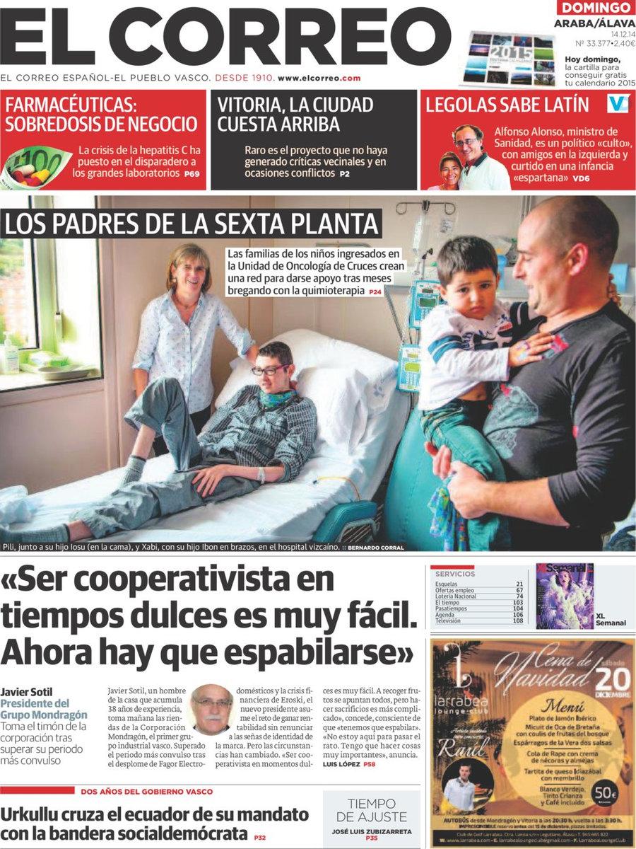 Periodico el correo lava 14 12 2014 for Correo la 14