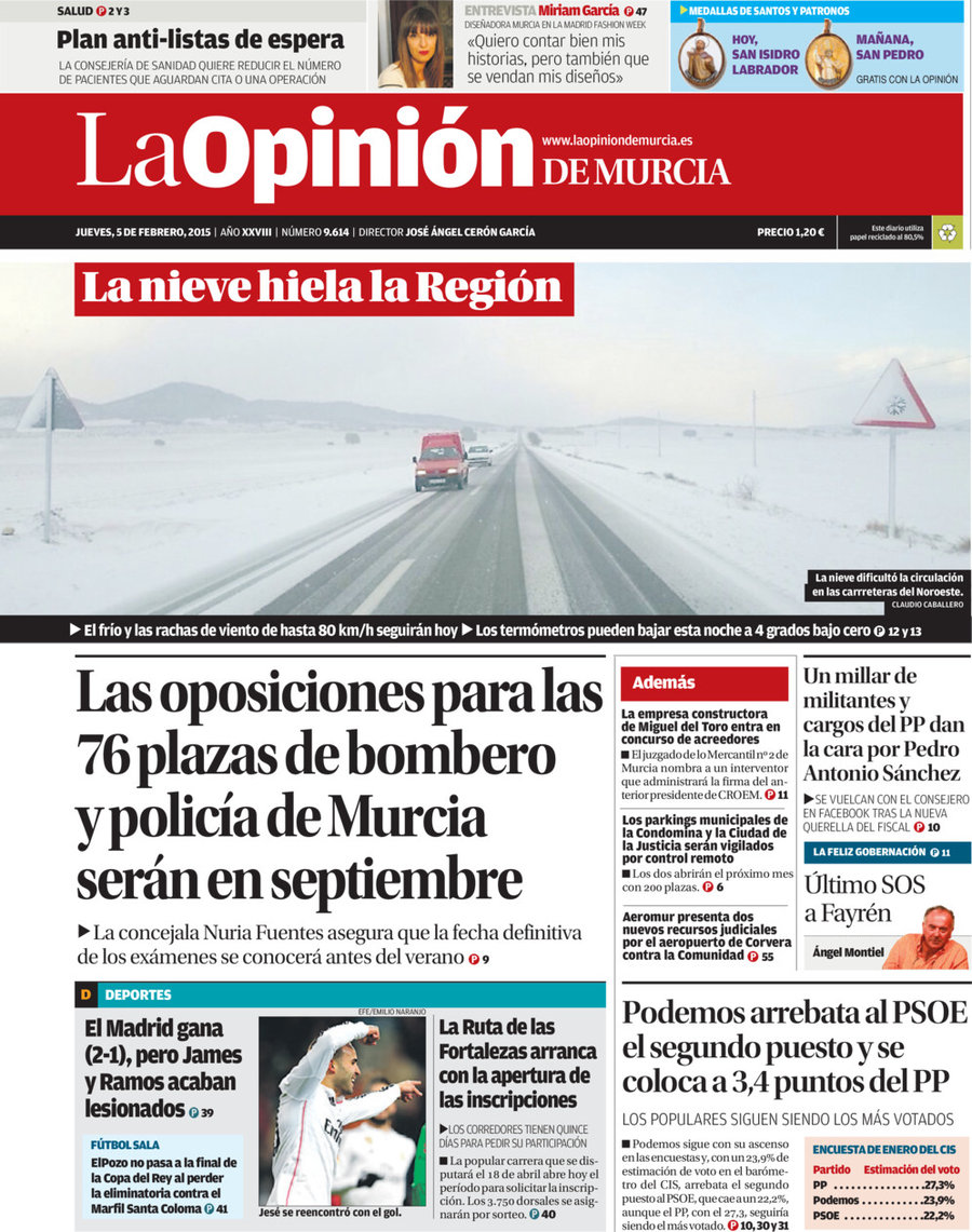 la opinion de murcia cartagena: