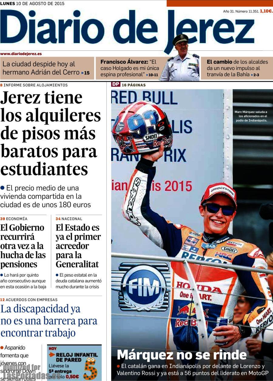 Periodico diario de jerez 10 8 2015 - Alquileres de pisos baratos en logrono ...