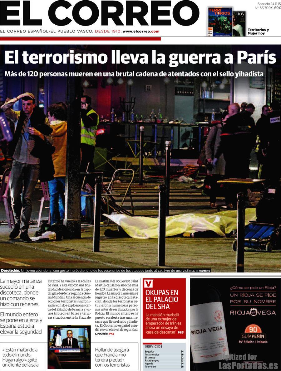 Periodico el correo 14 11 2015 for Correo la 14