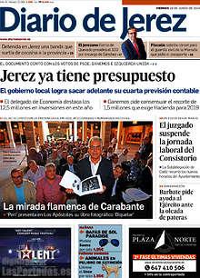Periodico Diario de Jerez - 29/6/2018