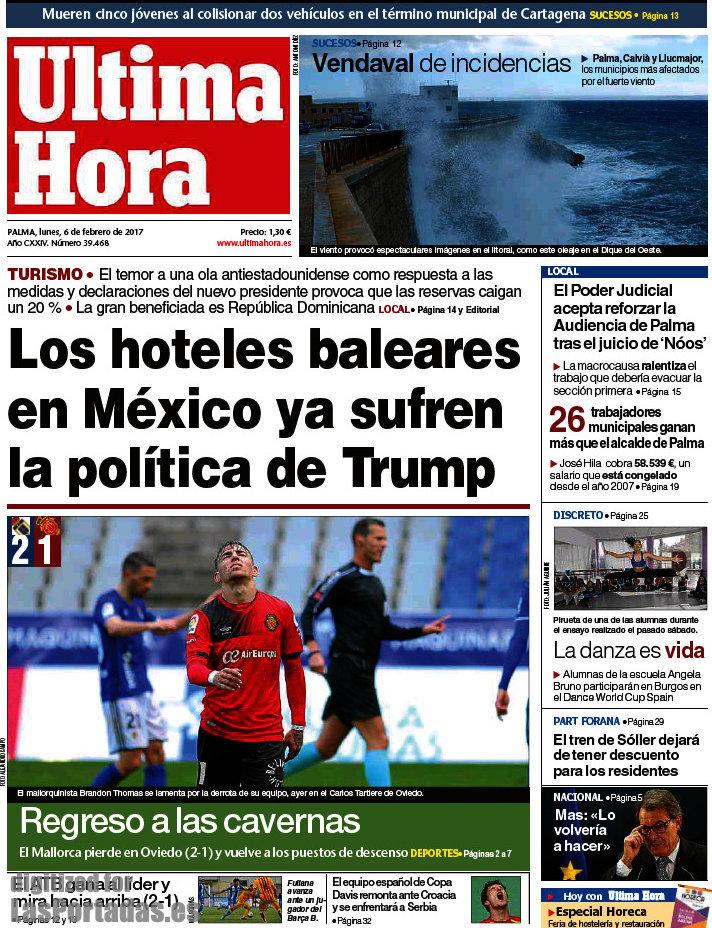 Periodico Ltima Hora 6 2 2017