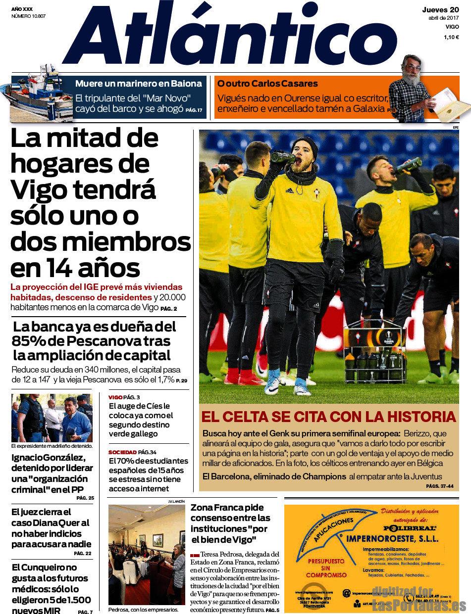 Periodico Atlántico Diario 20 4 2017