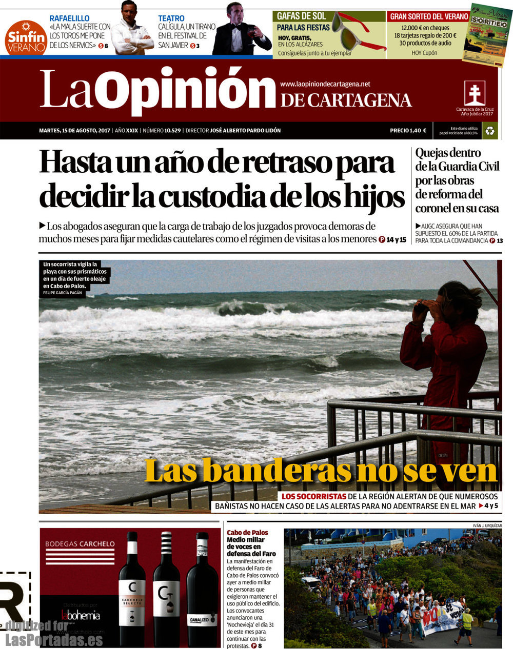 La Periodico Opinión 1582017 Cartagena De GzMpSqUV