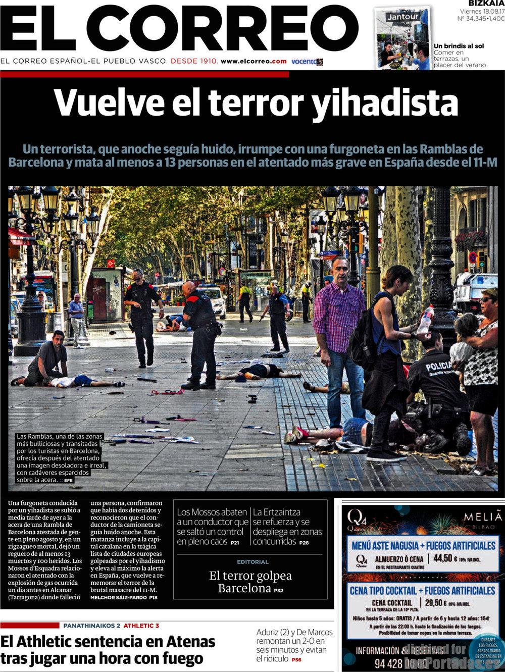 Periodico El Correo 18 8 2017