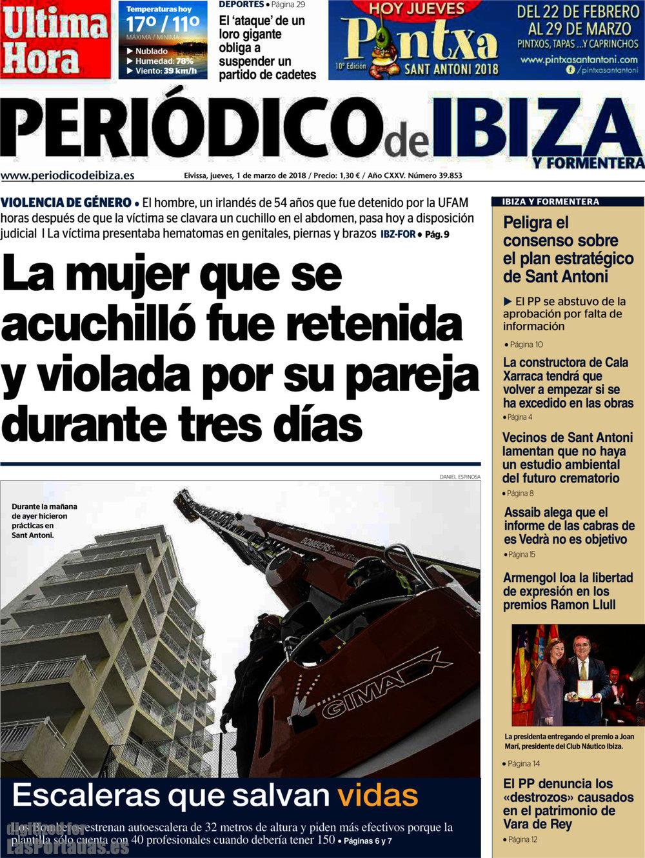 Periodico Periódico de Ibiza - 1/3/2018
