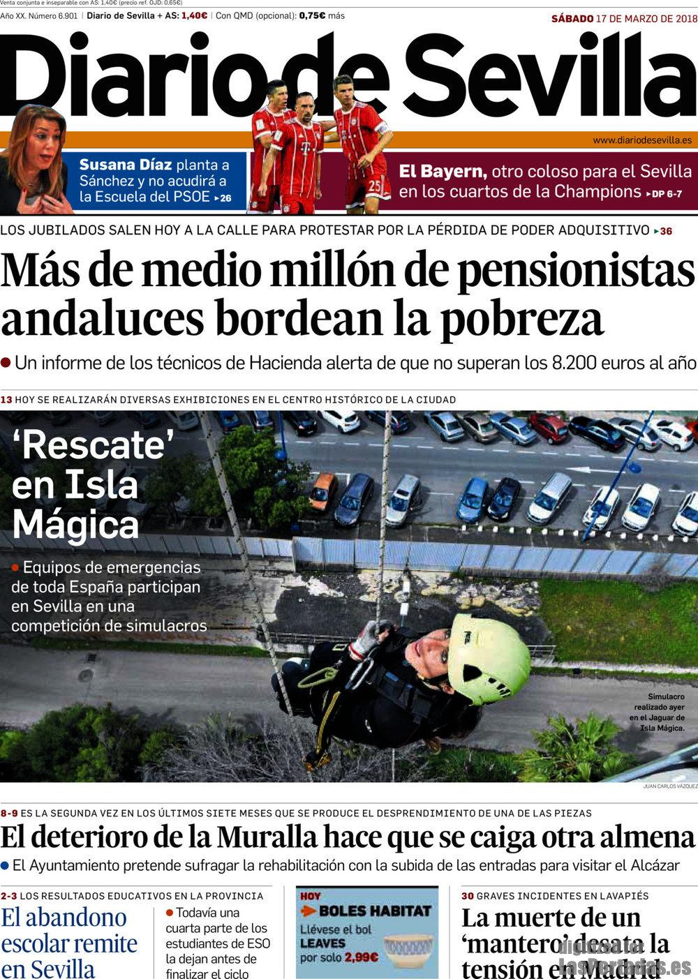 Periodico Diario de Sevilla - 17/3/2018
