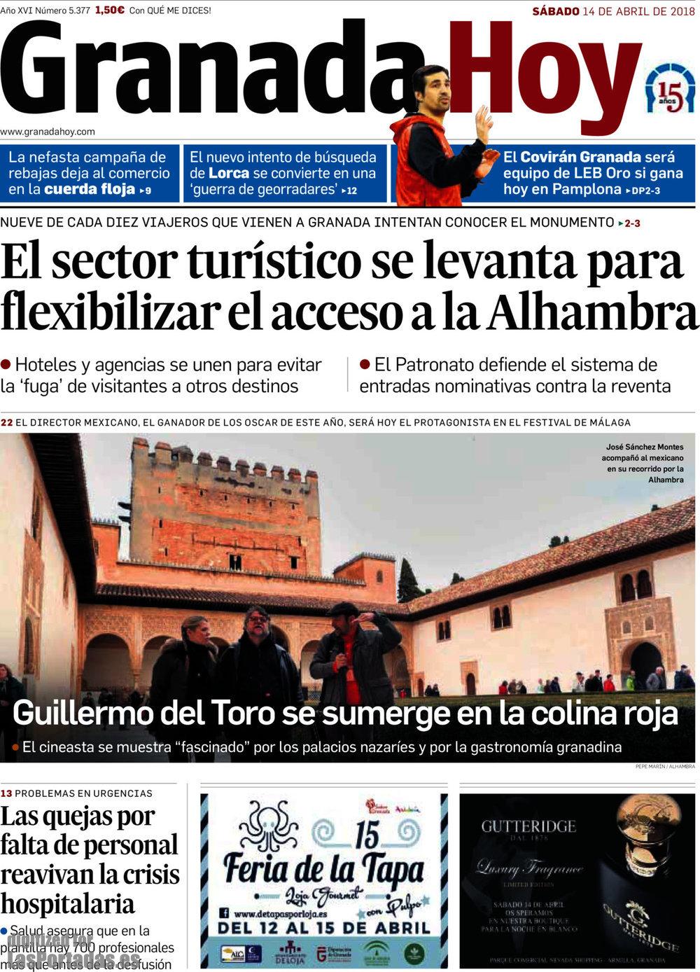 Periodico Granada Hoy - 14/4/2018