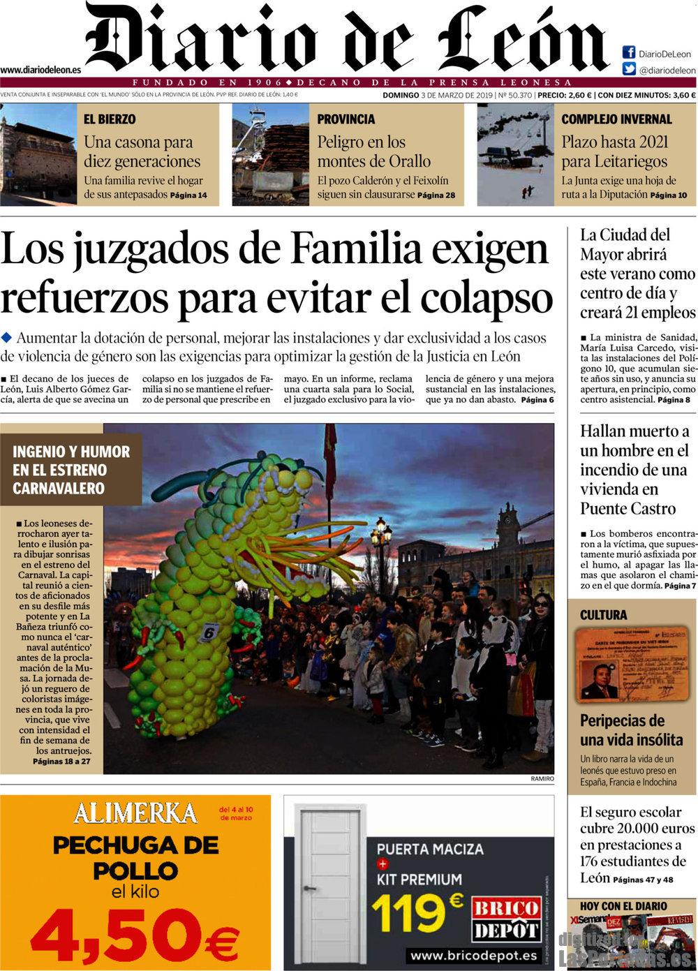 Periodico Diario de León - 3/3/2019