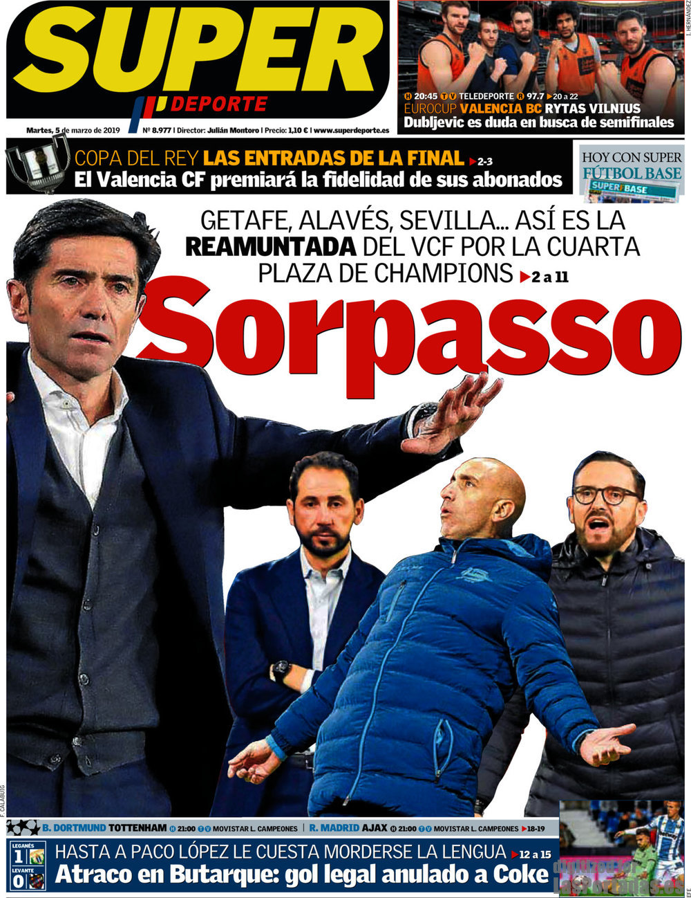 Periodico Super Deporte - 5/3/2019