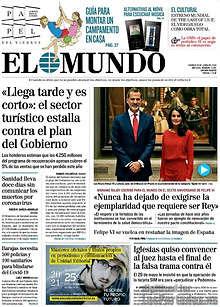 El Mundo - 19 Junio 2020 [Español [.PDF] [Up-Load] GElMundoB