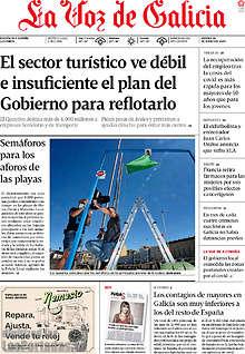 La Voz de Galicia - 19 Junio 2020 [Español [.PDF] [Up-Load] GLaVozdeGaliciaB